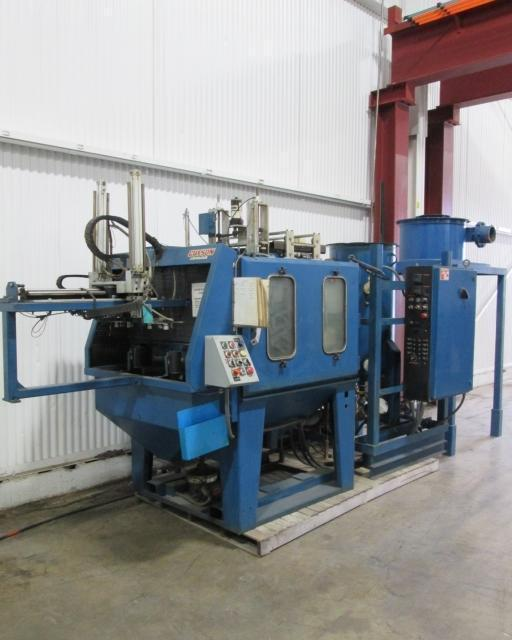 Guyson #RXS-1000 Carousel Type Blast Machine