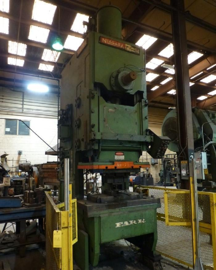 150 TON NIAGARA MODEL E-150 OBI PRESS: STOCK #13324