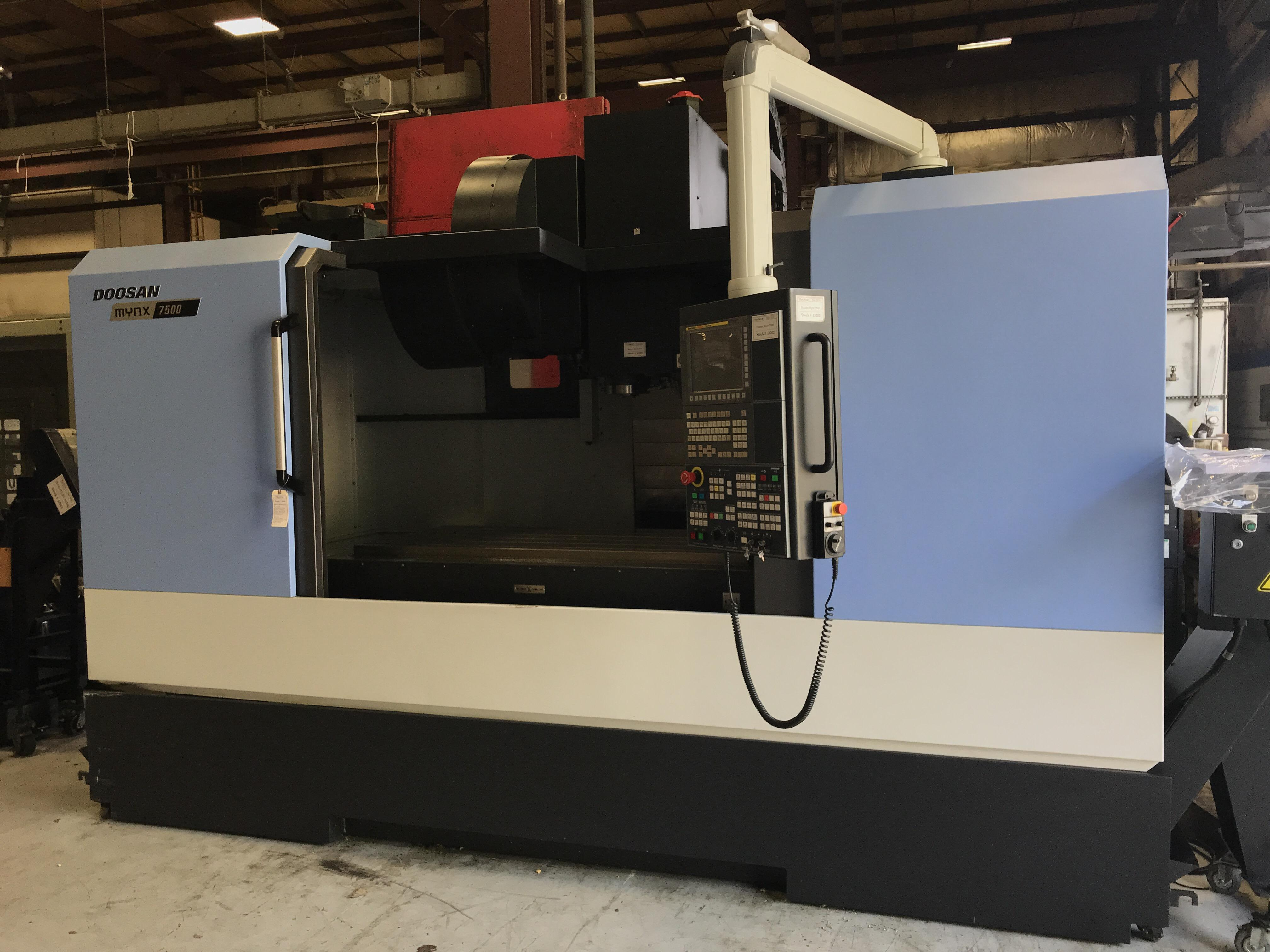 2016 Doosan Mynx 7500 - Vertical Machining Center