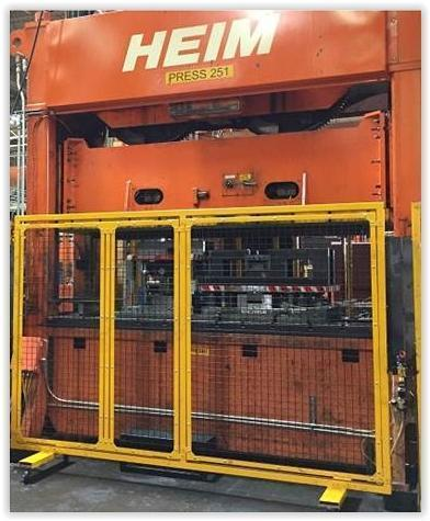 300 TON HEIM MODEL S2-300 SSDC PRESS: STOCK #70585