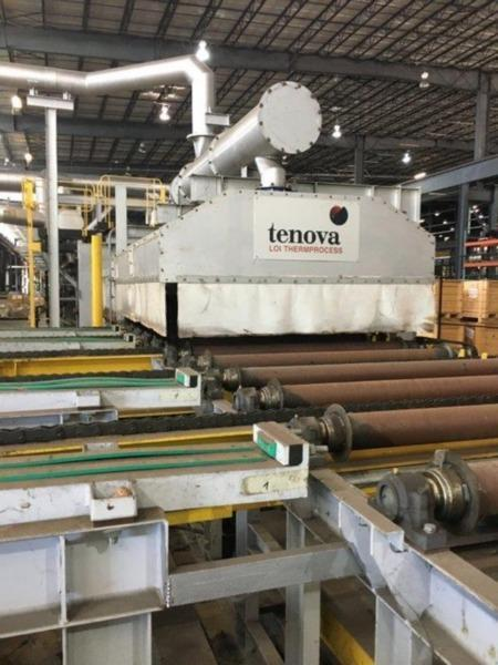 TENOVA LOI CONTINOUS ROLLER HEARTH FURNACE, TYPE RoDR 6500   Our stock number: 114529