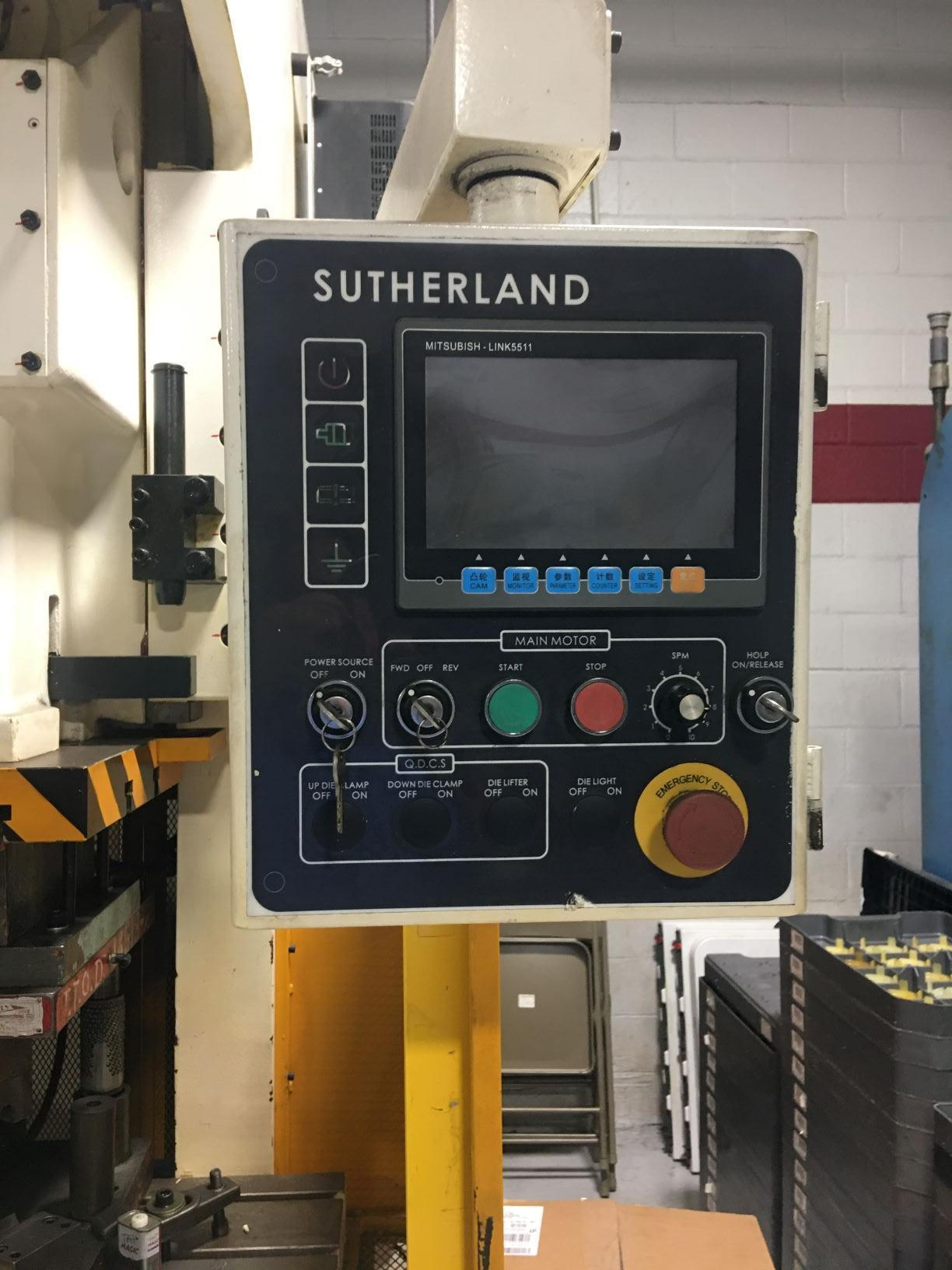 SUTHERLAND2013 Sutherland Mark 121-V Punch Press