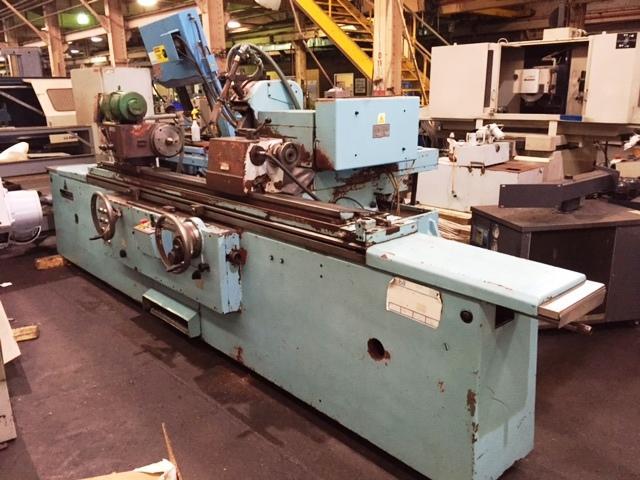 "15.75"" x 59"" TOS Hostivar Precision Universal Cylindrical Grinder Model: BHU-40A-1500 S/N: 0218250 Mfg: 1980's"