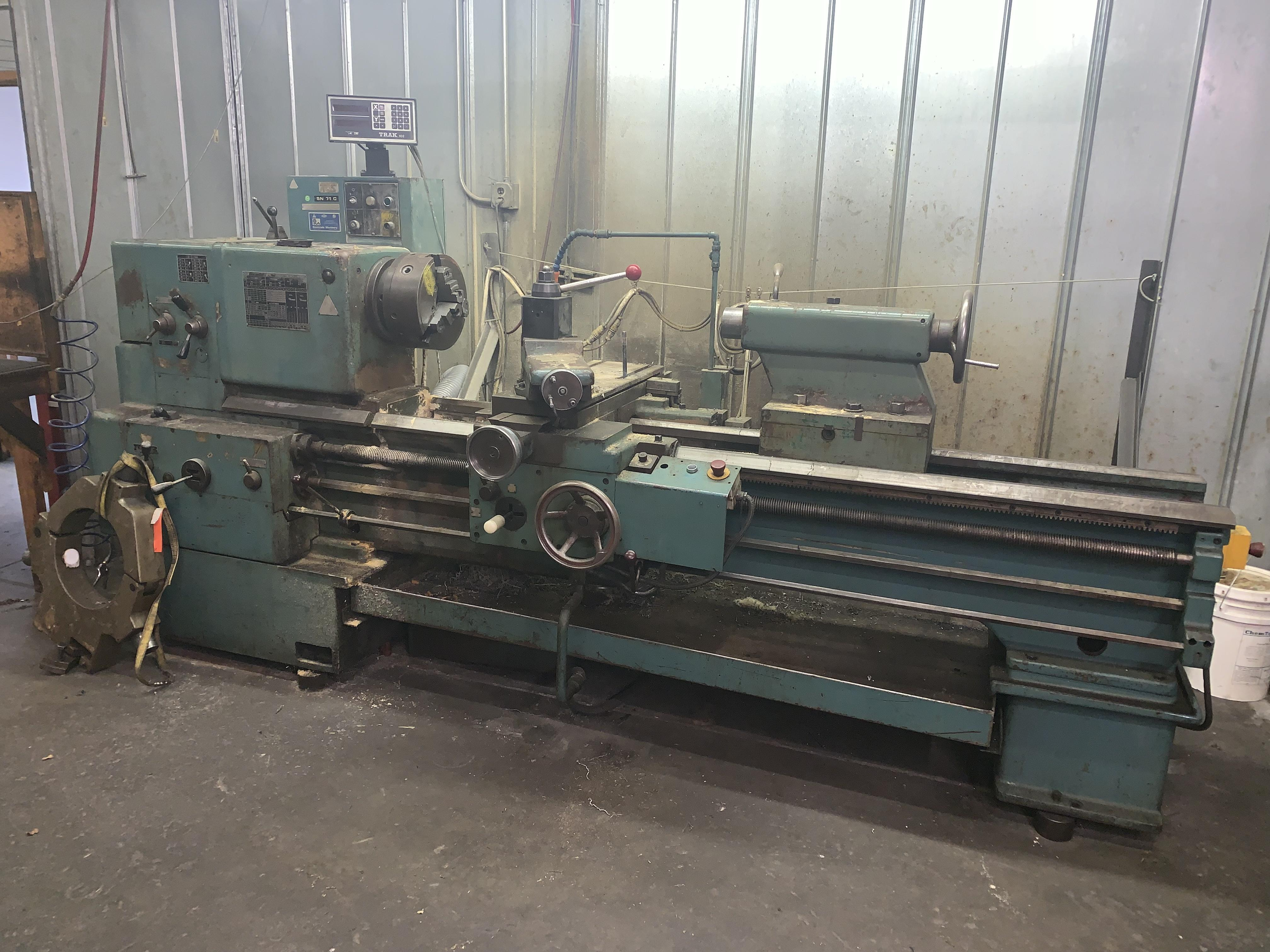"24"" X 70"" TOS MODEL #SN71C ENGINE LATHE: STOCK #10142"