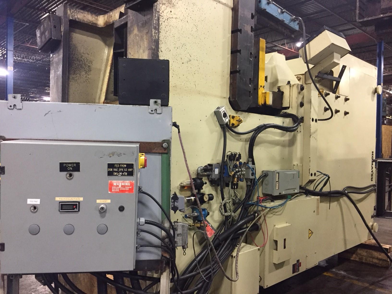 220 Ton Komatsu OBS200S Gap Frame Press