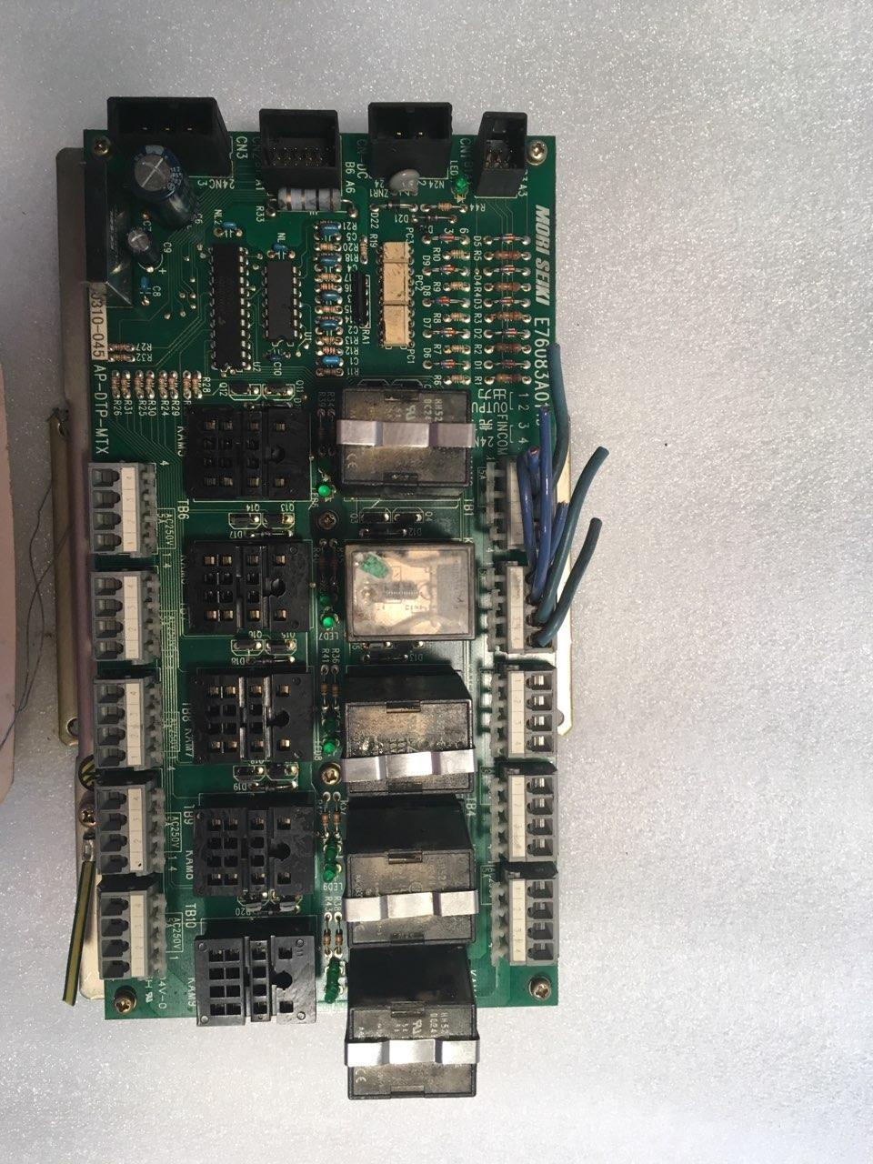 MORI SEIKI E76083A01 TB Relay Board, AP-DTP-MTX