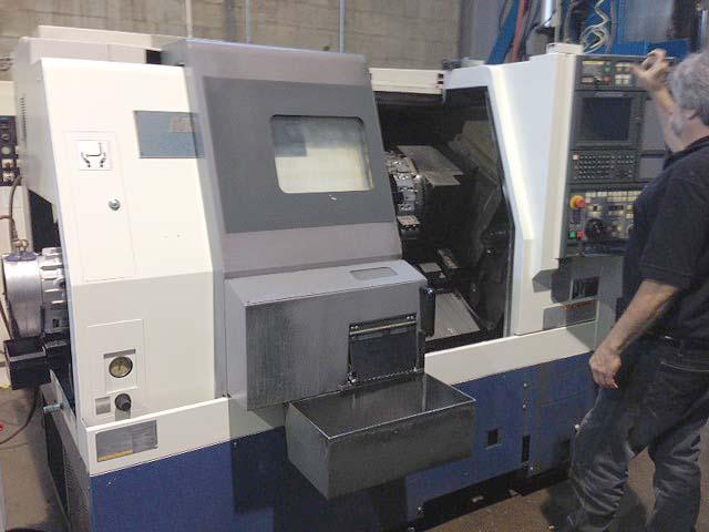 """MORI SEIKI SL-253B/500, Mori MSC-500 (Fanuc 21i) CNC Control, 26"""" Swing Over the Bed, 20"""" Swing Over the Carriage, Tailstock with 19"""" Centers, 2.85"""" Bar Capacity, Collet Chuck, New 2001."""