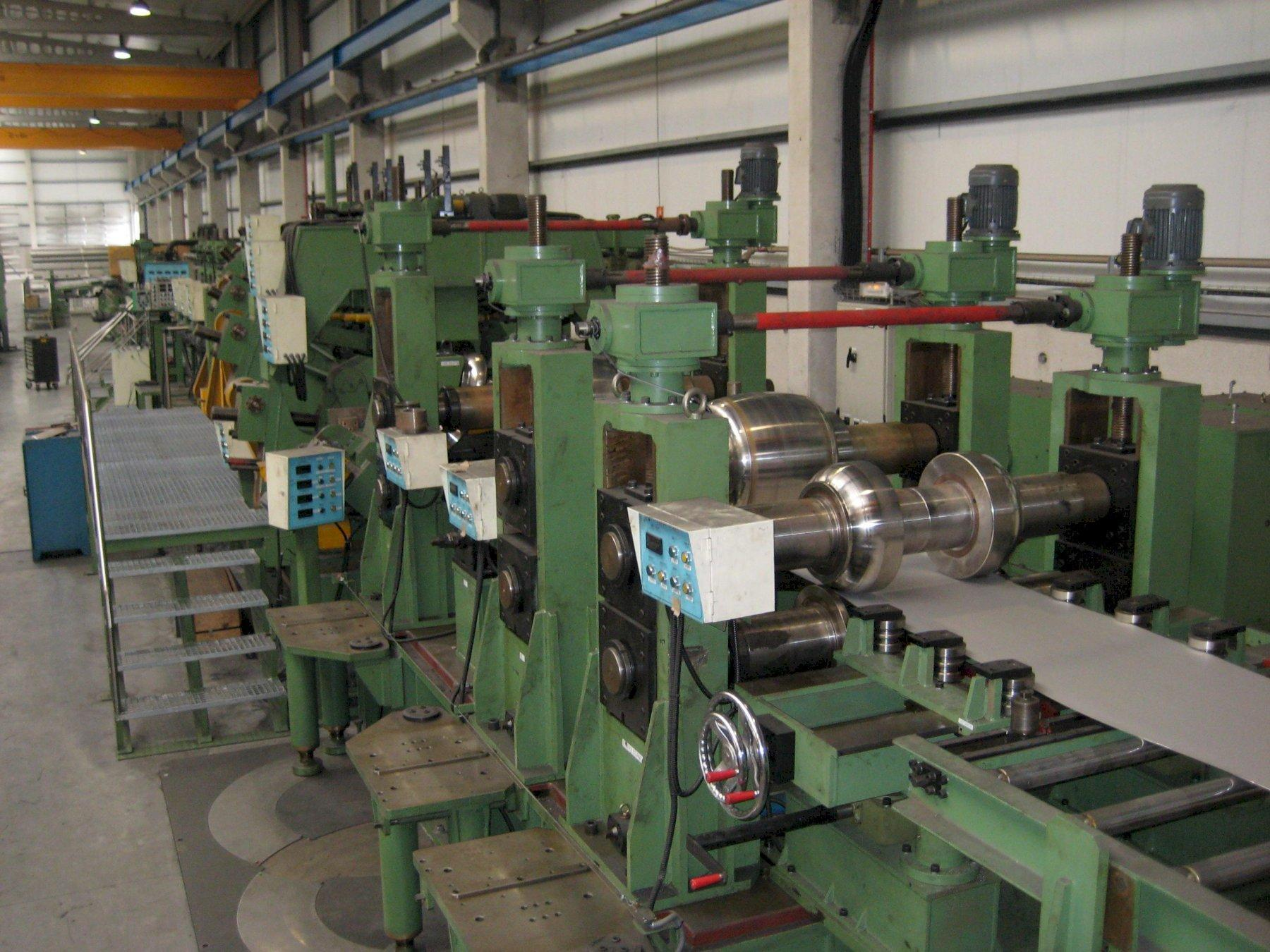 """16"""" x 8mm Stainless Cage Forming Complete Pipe Mill (2005)"""