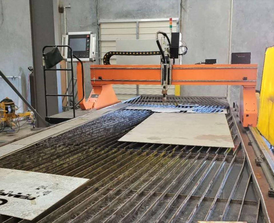 10' x 30' Otto Arc Systems High-definition CNC Plasma Cutting