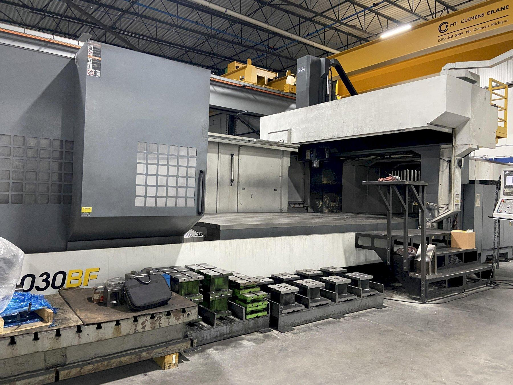 YCM DCV6030BF CNC Bridge-Style Vertical Machining Center (2013)