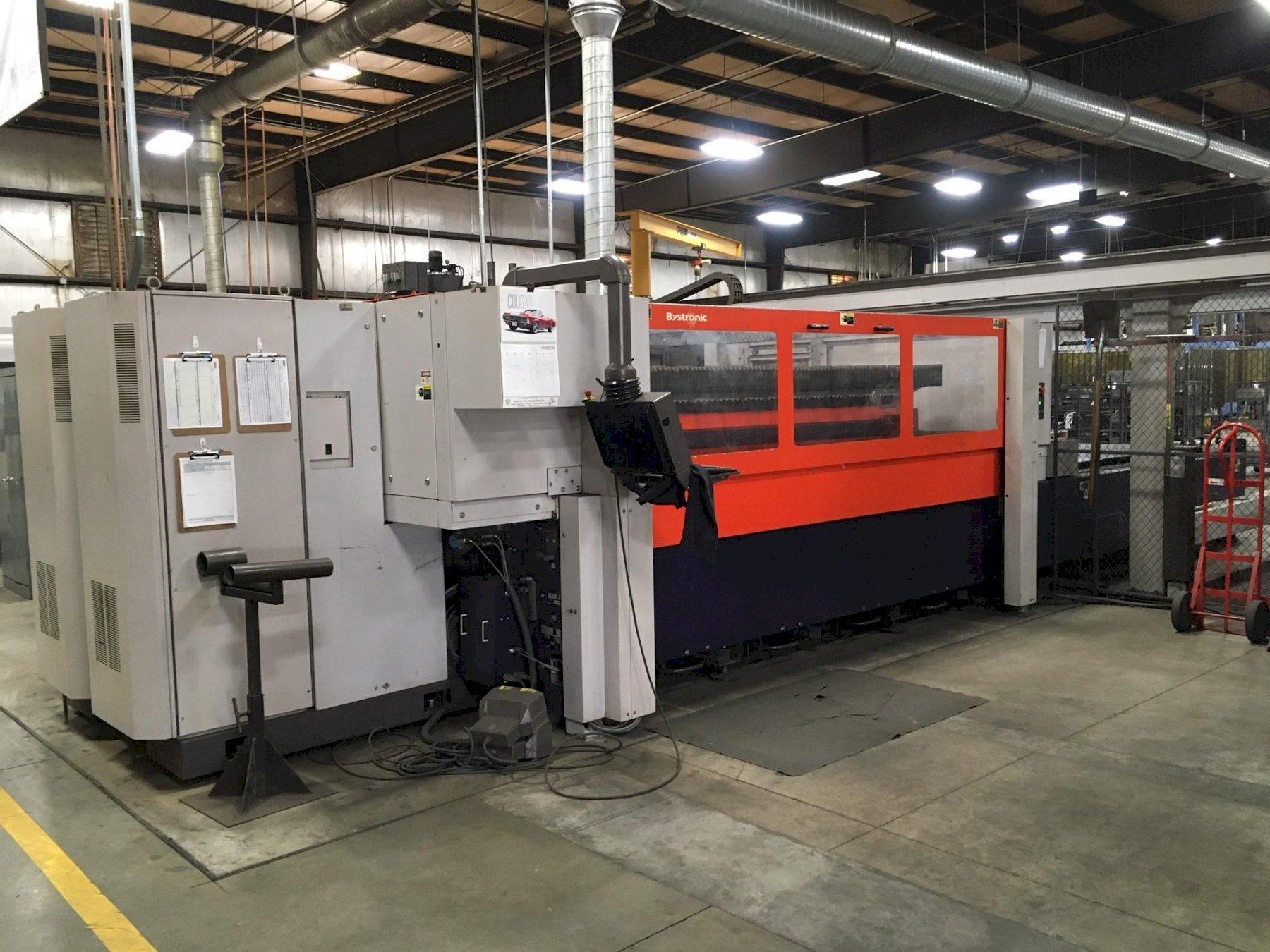 2006 Bystronic Bystar 3015, 5x10, 4400 Watt Co2 CNC Laser