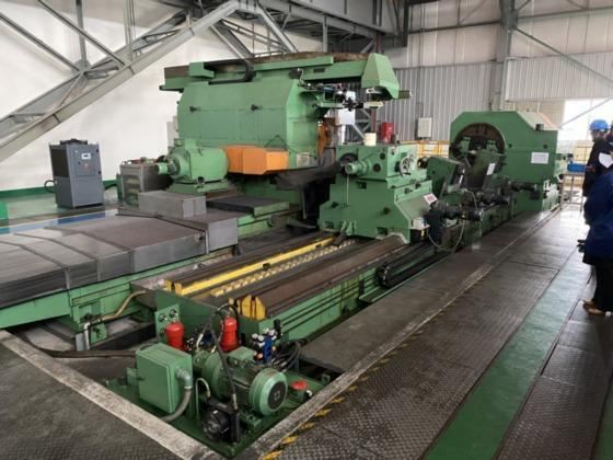 """1250mm x 5000mm (48"""" x 196.5"""") SHANGHAI MACHINERY CNC ROLL GRINDER, NEW 2015   Our stock number: 114444"""