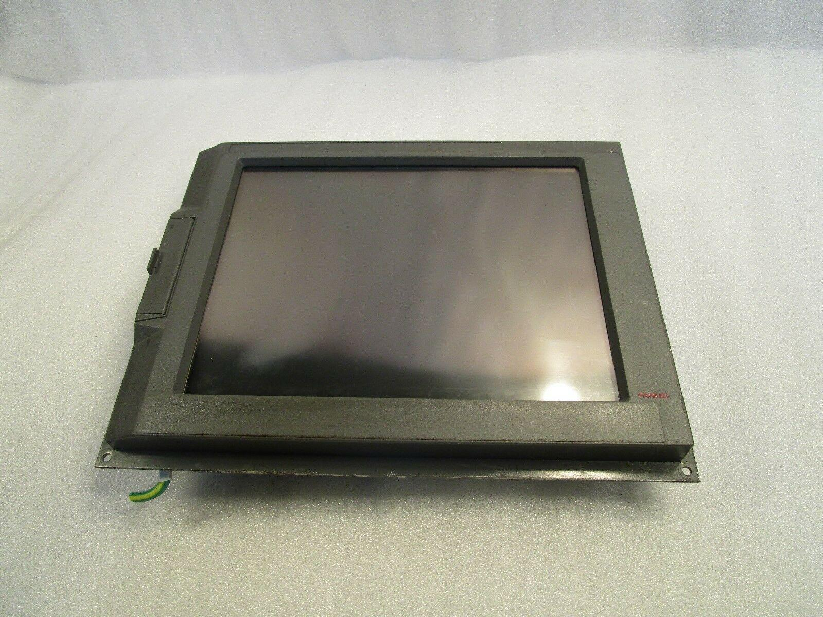 """Fanuc 10.4"""" FA LCD Display Unit A02B-0281-C087 with Touch Screen"""