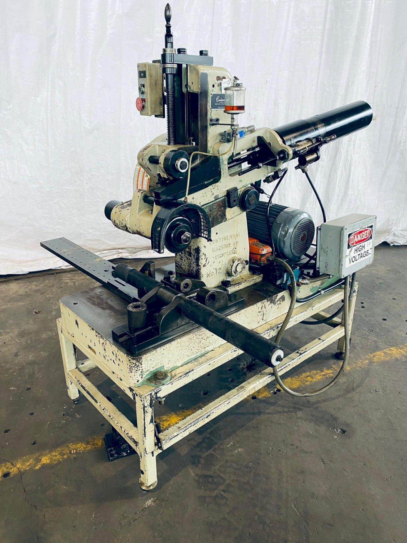"12"" CONTINENTAL NO. 12A CUT OFF MACHINE. STOCK # 0847520"