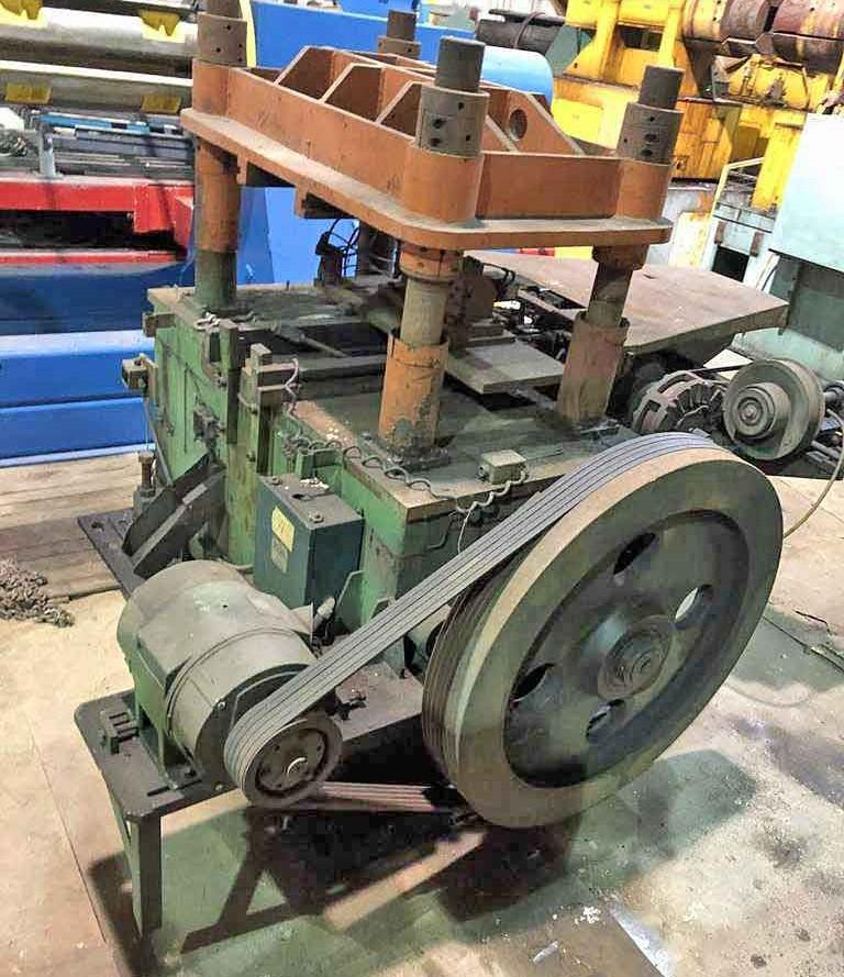 80 Ton Bradbury Cutoff Press