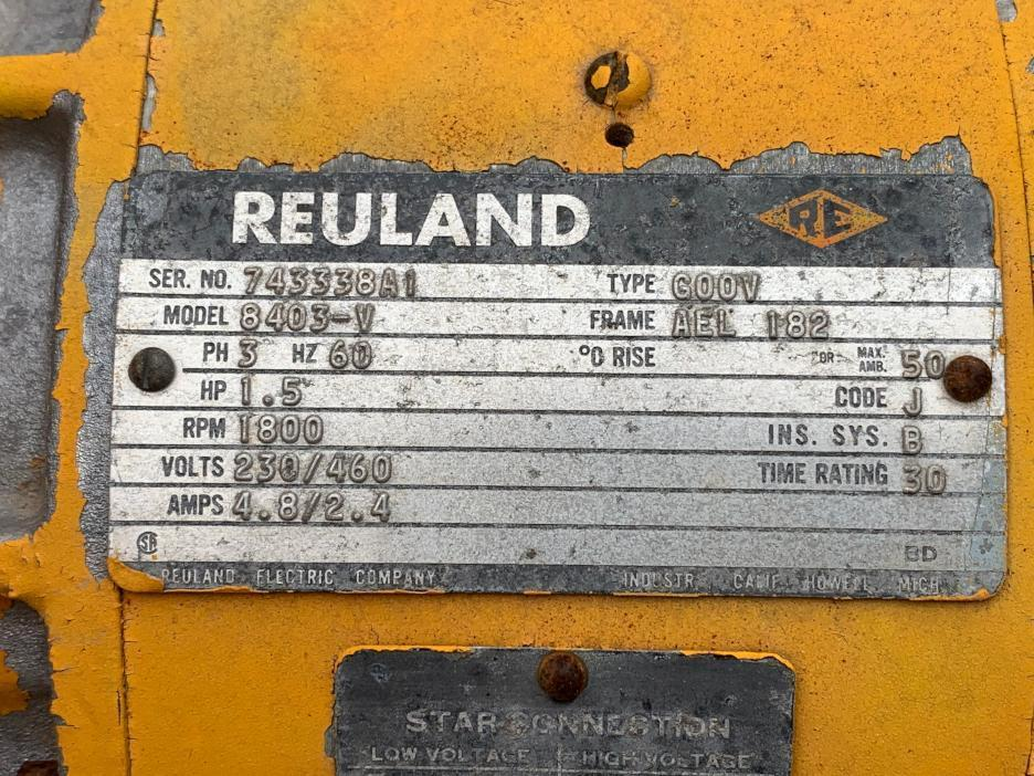 1 - PREOWNED 1974 ABELL-HOWE 5 TON OVERHEAD CRANE,<br>S/N: 74-7235 01, W/ P & H 5 TON HEVI-LIFT CABLE HOIST
