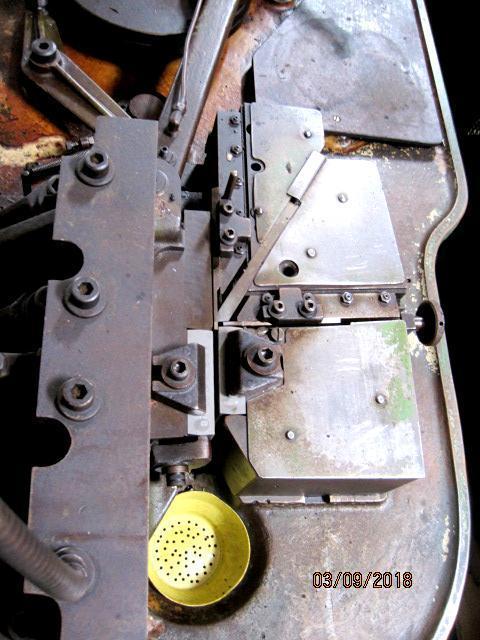 "3/16"" Hartford A-190-HM #0 Hand Feed Flat Die Thread Roller"