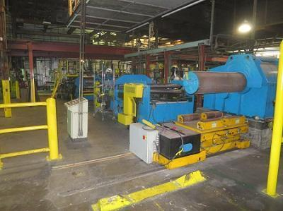 """56"""" HUNTER CONTINUOUS ALUMINUM CASTING LINE   Our stock number: 114145"""