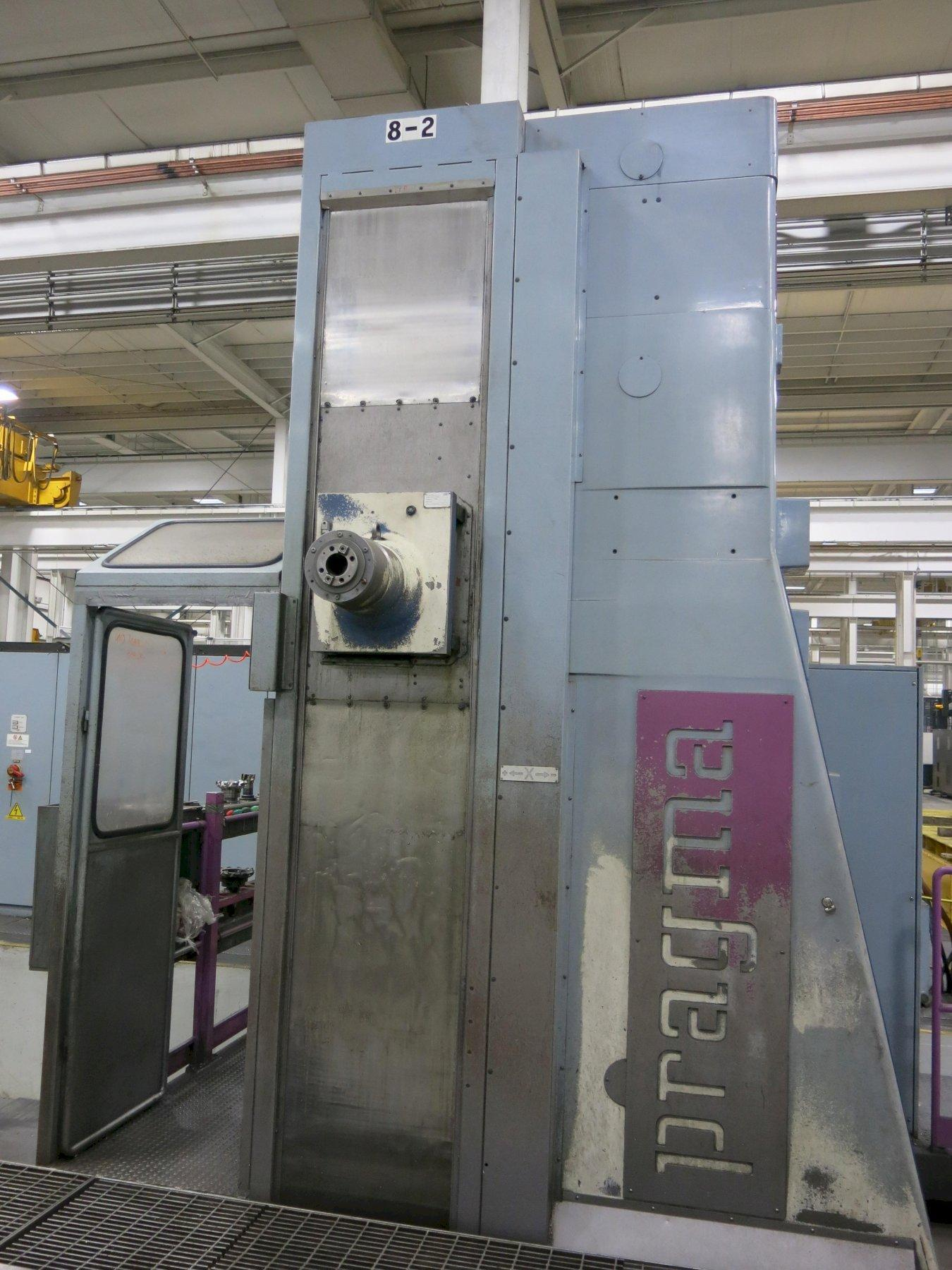 FPT Pragma CNC Floor Type Horizontal Boring with Head Changer, Floor Plates, New 2001