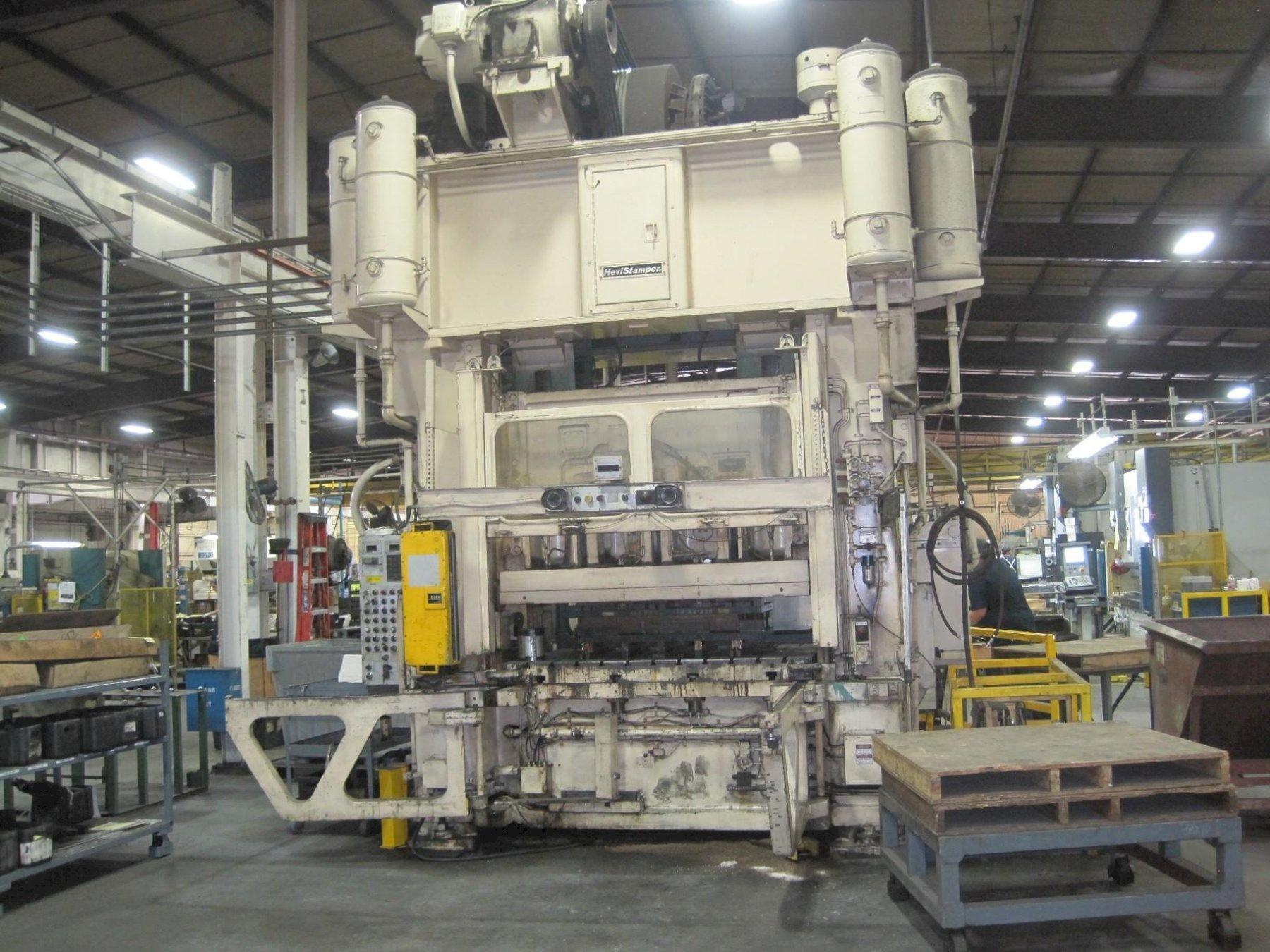 250 TON MINSTER E2-250-72-48 STRAIGHT SIDE PRESS. STOCK # 2001320