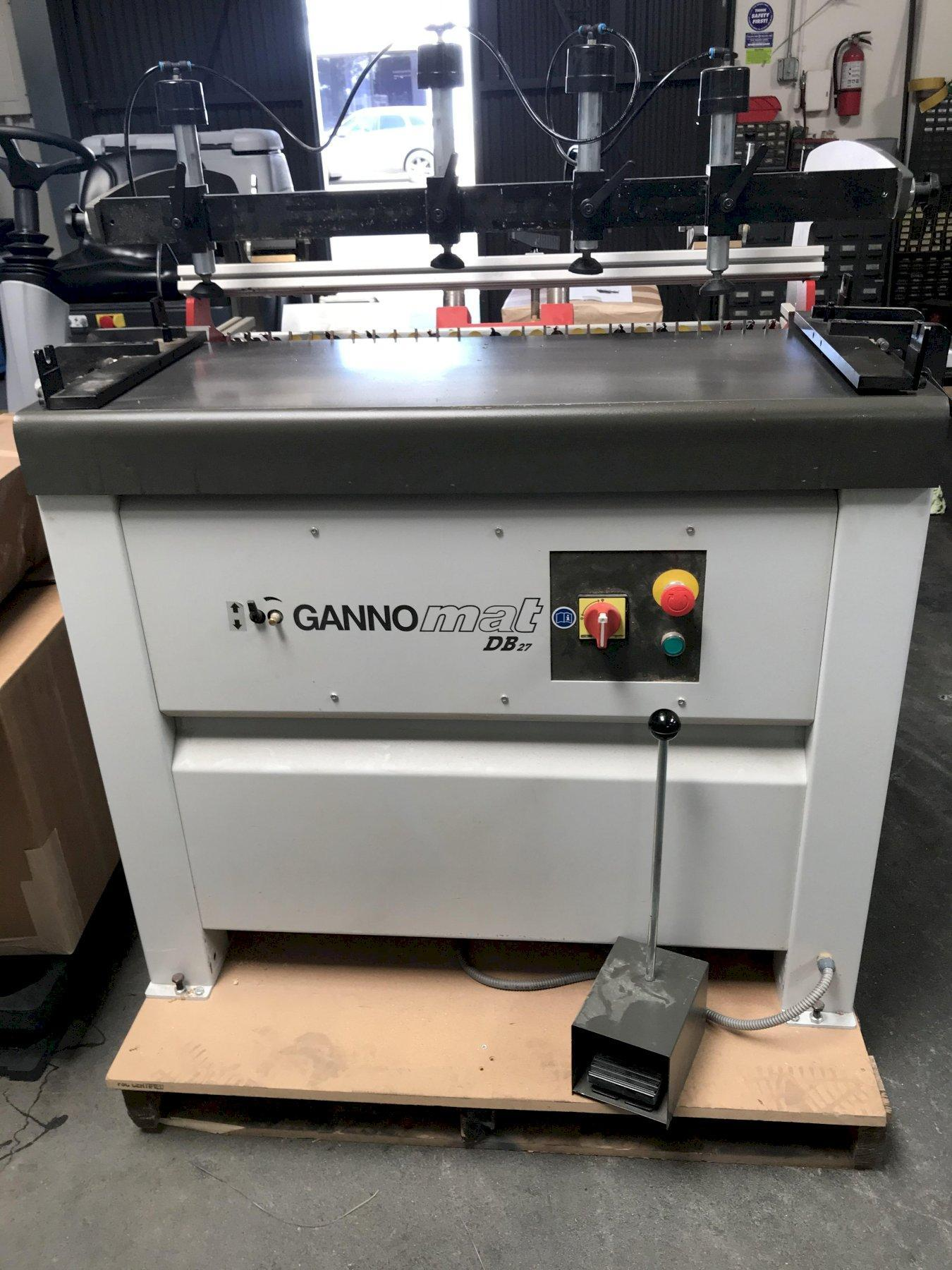 Gannomat DB27 Dowel Hole Boring Machine 2017