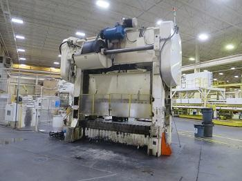 400 Ton Brown Boggs Press Line w/ COE Feed Line