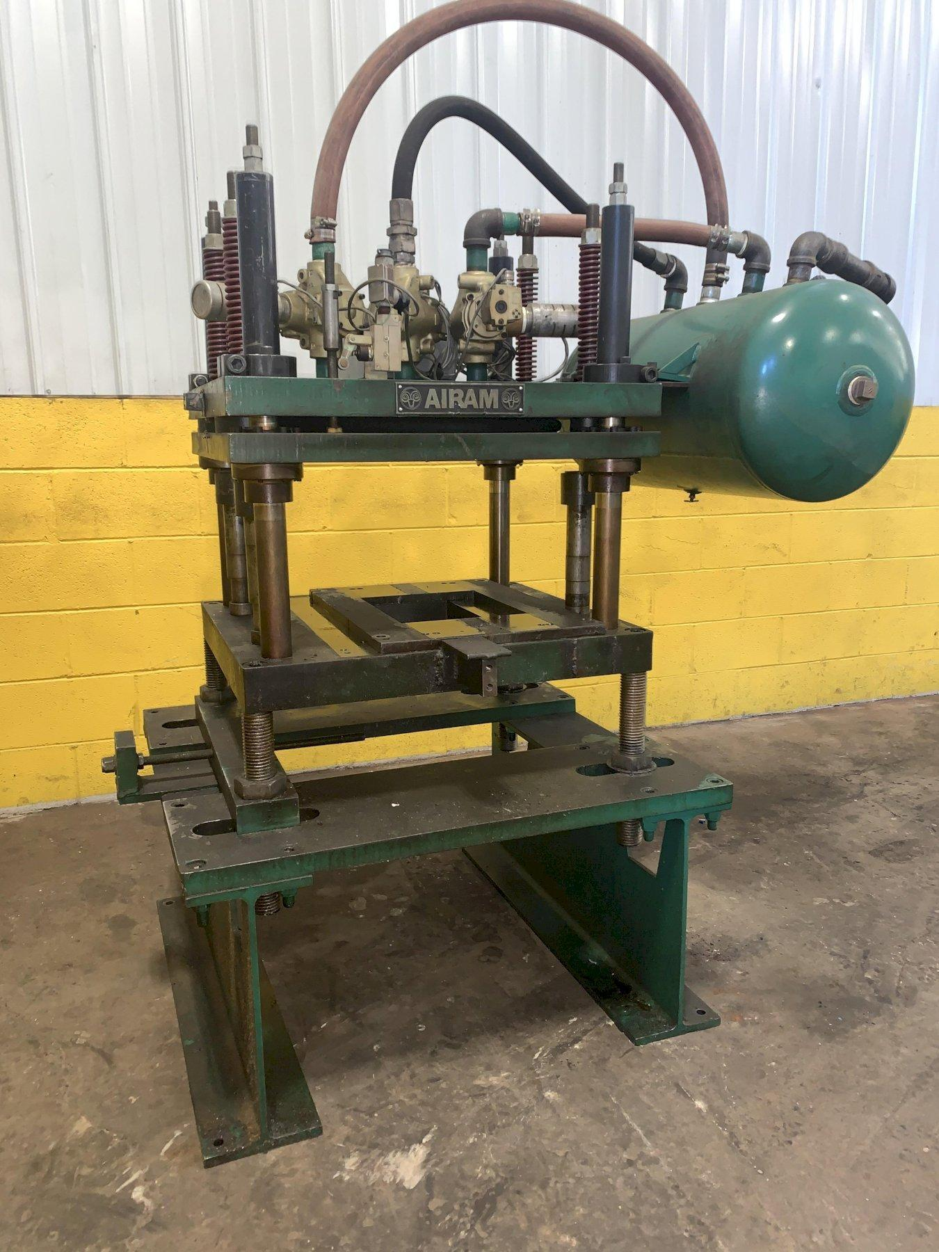 20 TON AIRAM 4-POST CUTOFF PRESS: STOCK #13722