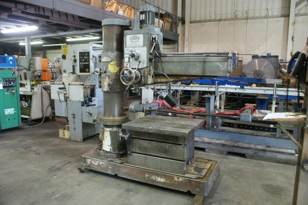 USED SORALUCE RADIAL ARM DRILL, Model TRO-1250, 50