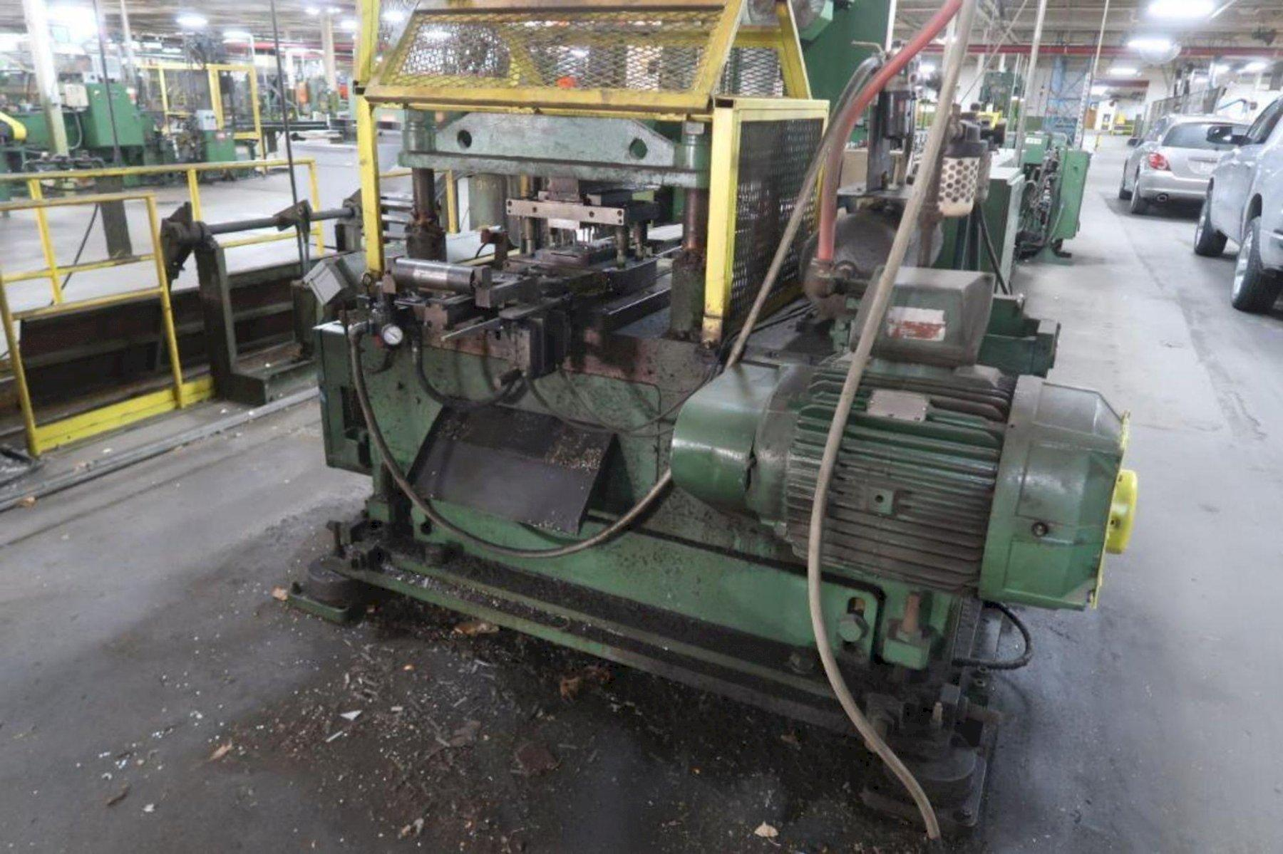 60 TON TISHKEN CUTOFF PRESS: STOCK #73911
