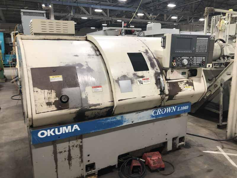 Okuma Crown L1060 Model 762E 2-Axis CNC Turning Machine