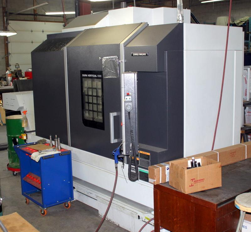 "DMG MORI DuraVertical 5100 CNC VMC, Crtl-DMG MORI FOiMD, 12000 RPM, CAT 40, 53.1"" x 23.6"" Table, 30HP, New 2015"