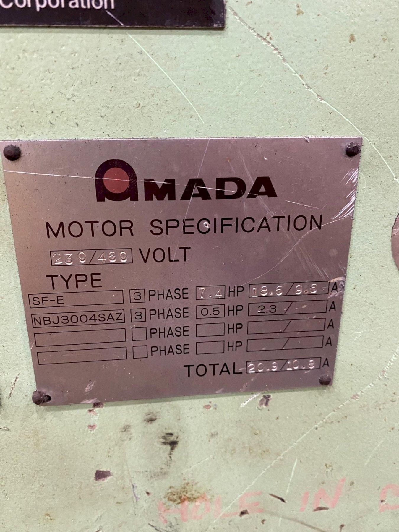 "6.5' x 3/16"" AMADA MODEL #M-2045 MECHANICAL POWER SHEAR: STOCK #15407"