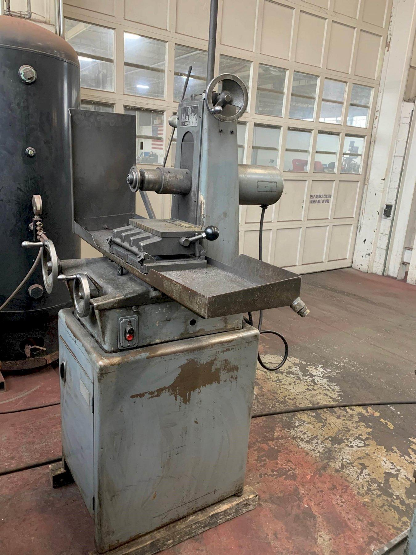 "USED HARIG 6"" X 12"" MODEL SUPER 612 HAND FEED SURFACE GRINDER, Stock #10822, Year 1966"