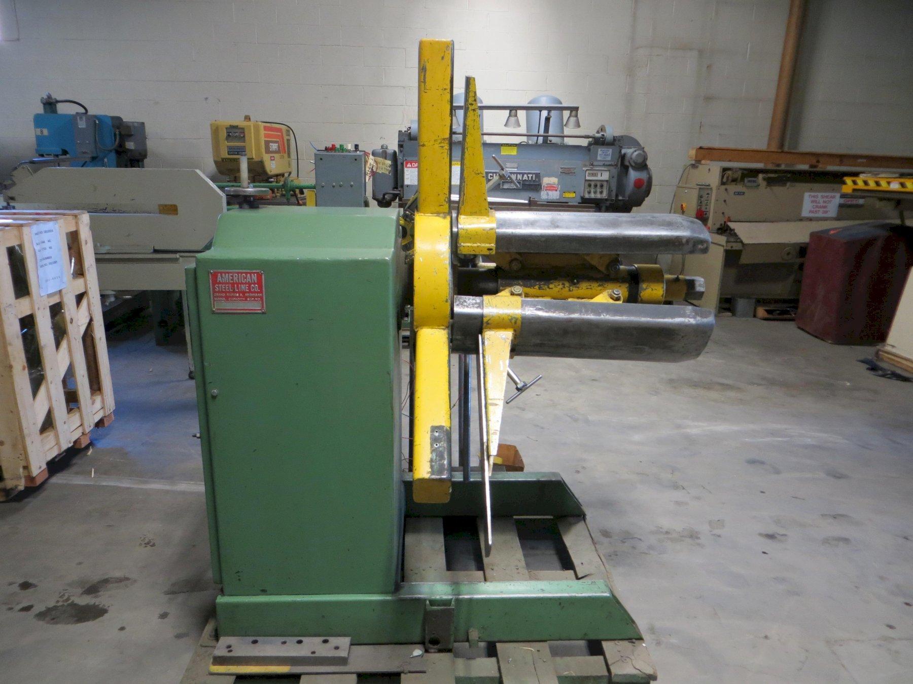4,000 lbs. American Steel Line Coil Reel, Model 60