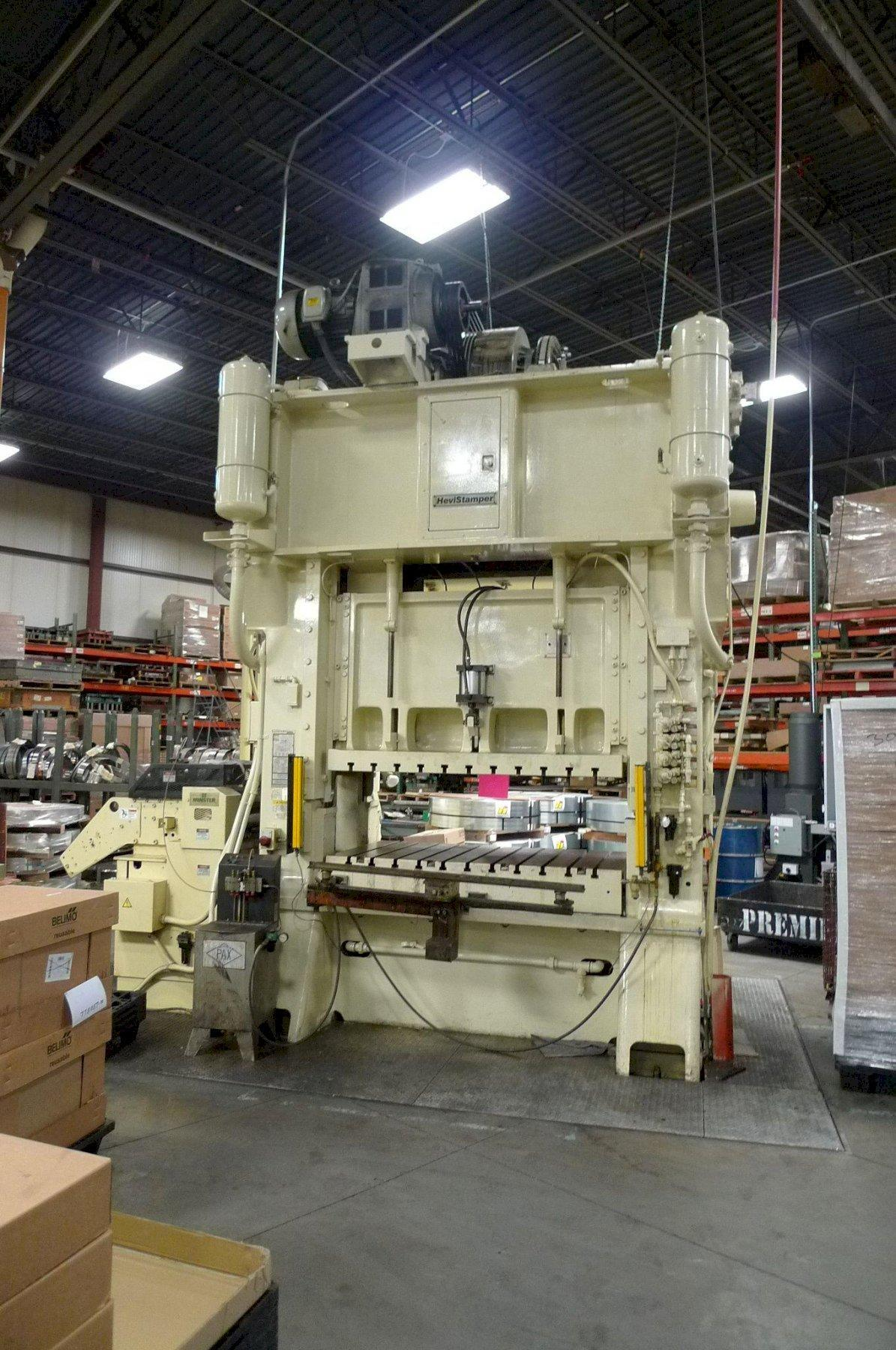 MINSTER 200 TON SSDC PRESS, STOCK# 14052J