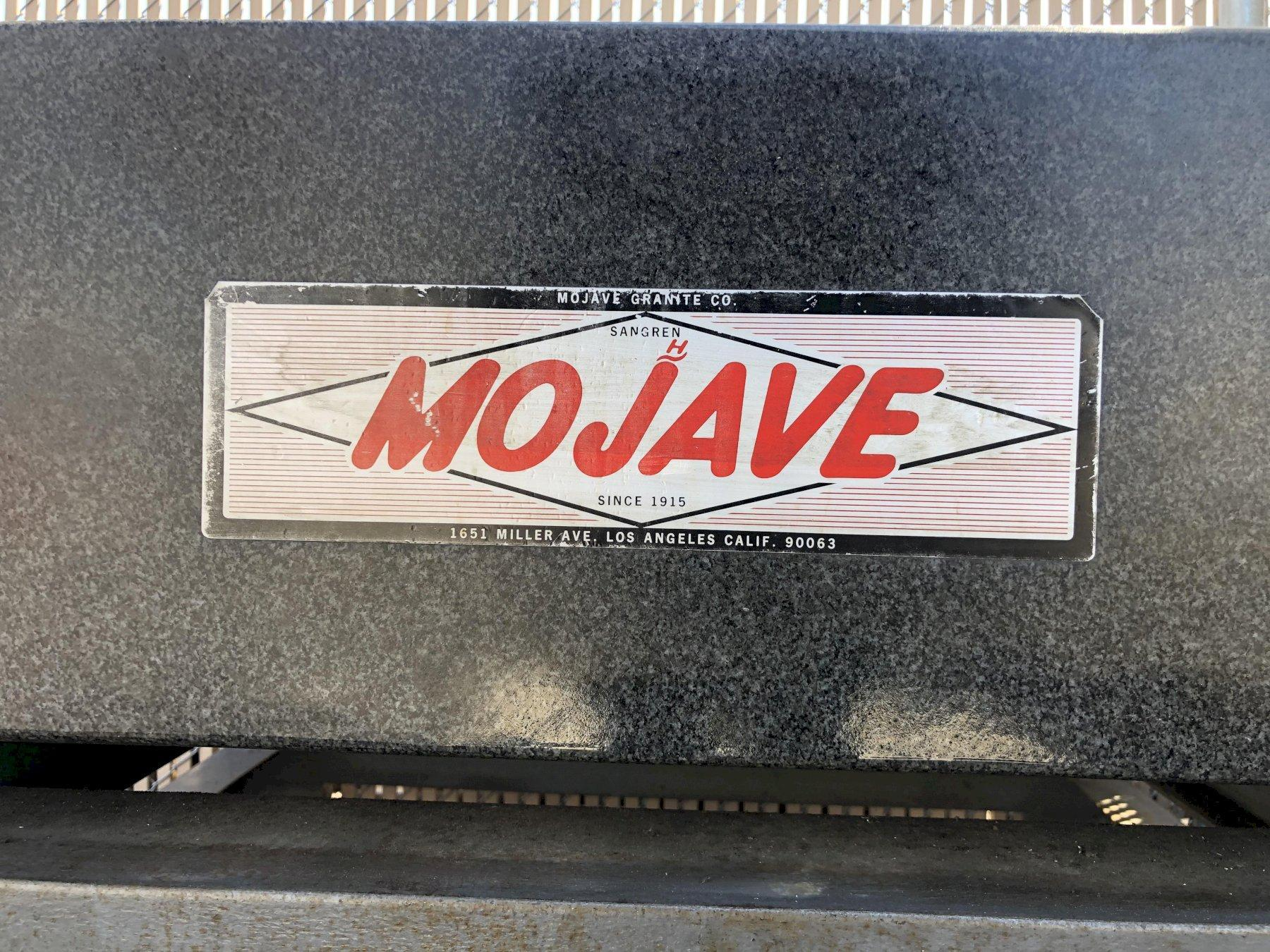 """Mojave Square Surface Granite Plate 60"""" x 60"""" x 10"""" with: Stand and Cover Top, Grade AA."""