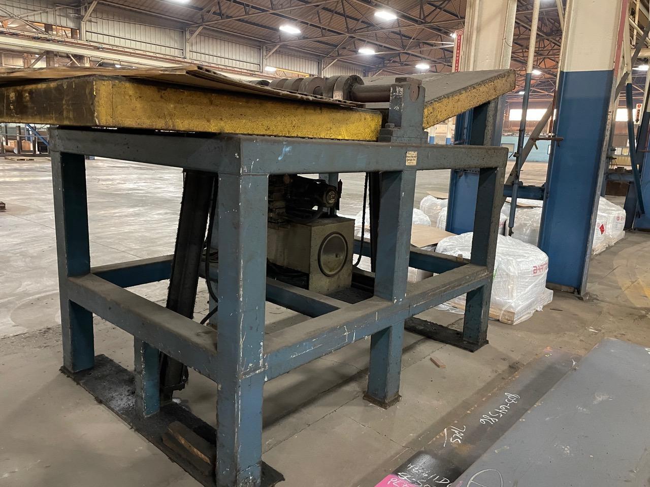 Steel Valley Design 10,000 LB Hydraulic Die Flipper