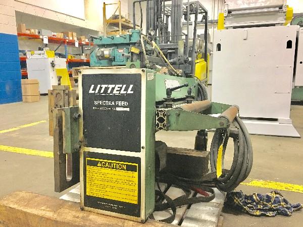 "LITTELL Servo Roll Feed (Press Mounted) 24"" Wide x .093"""