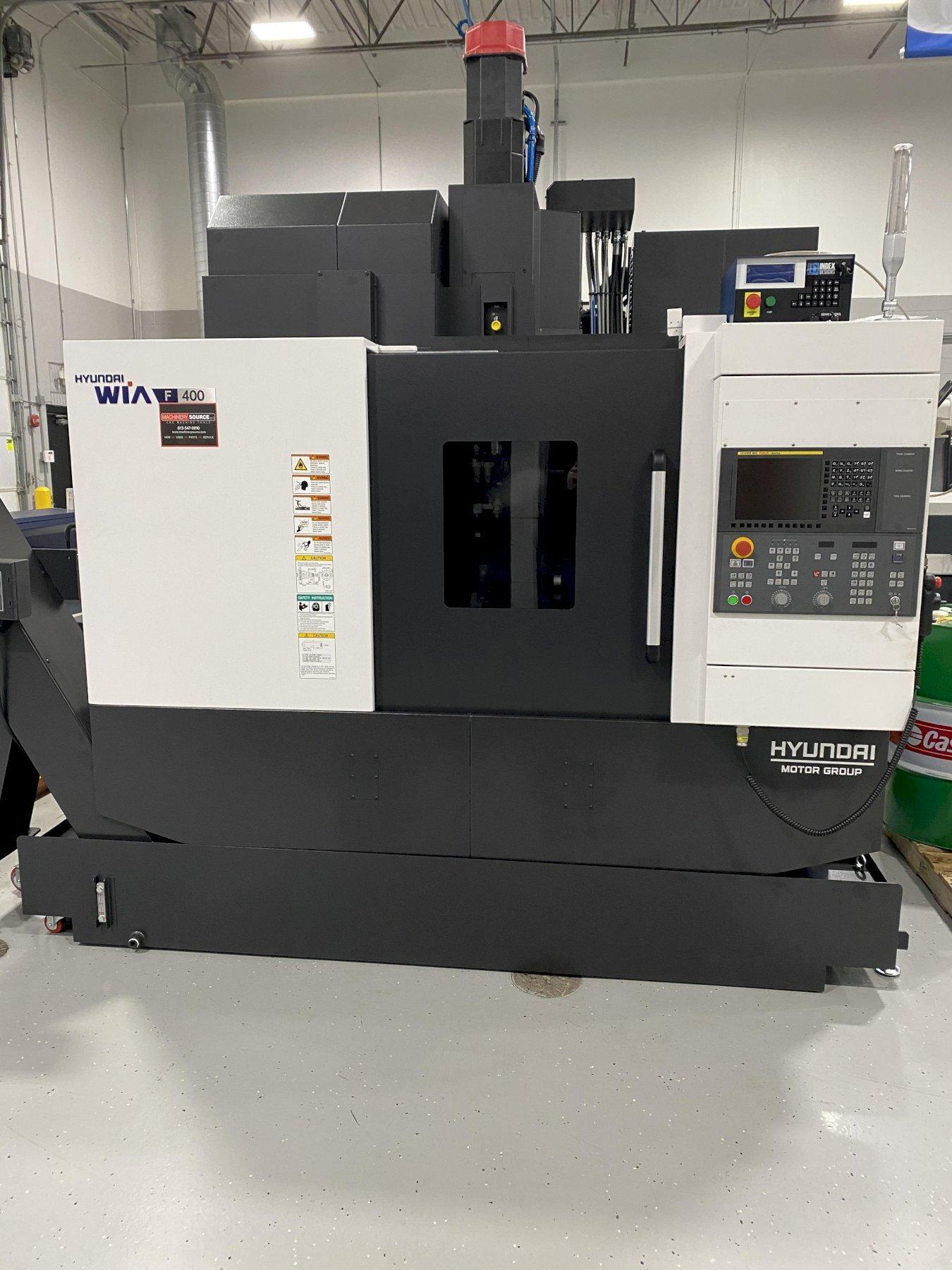 2019 HYUNDAI WIA F400 VERTICAL MACHINING CENTER