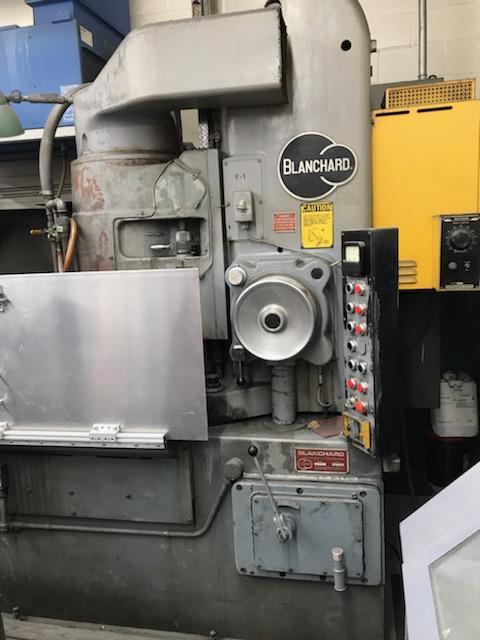 "Blanchard #22K-42, 42"" Vertical Spindle Rotary Surface Grinder, 79' Certified"