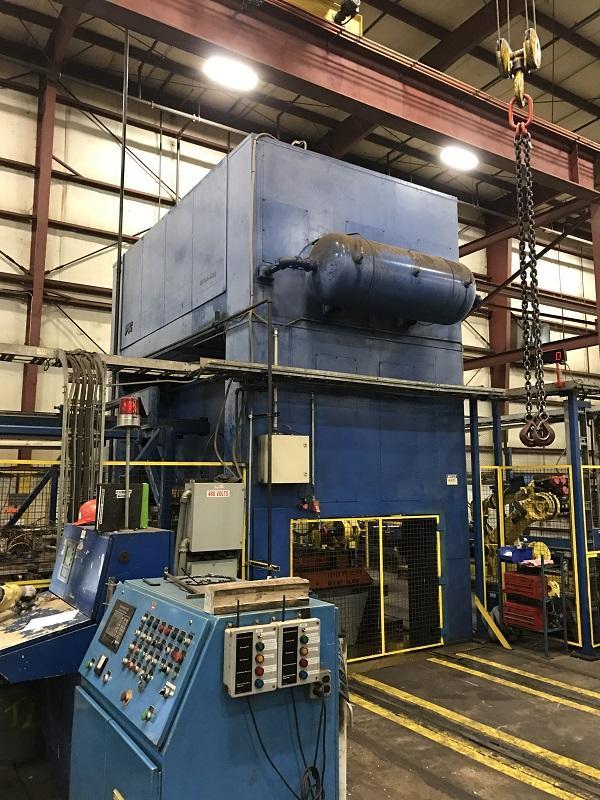 400 Ton PTC MPE 4-400-132x60 Press