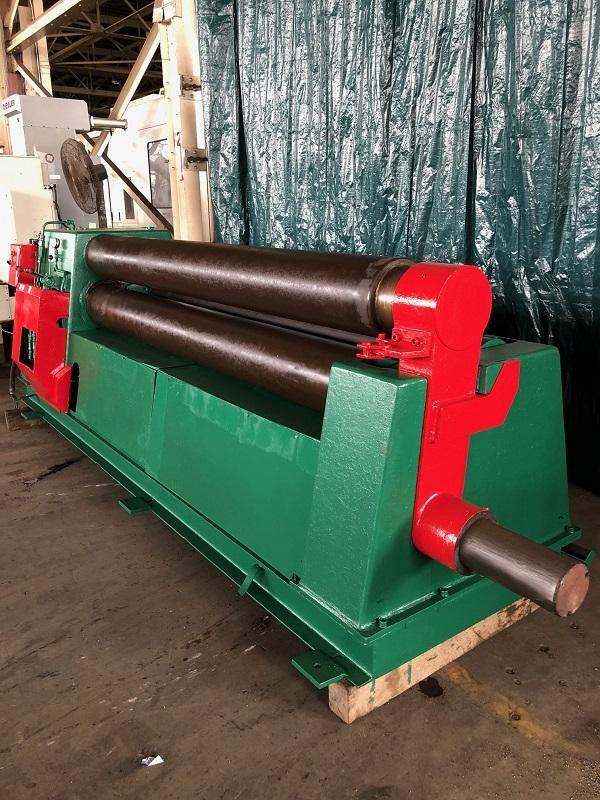 """8' x 1/2"""" Pullmax Kulma Model PV5s 3 Roll Plate Roll"""