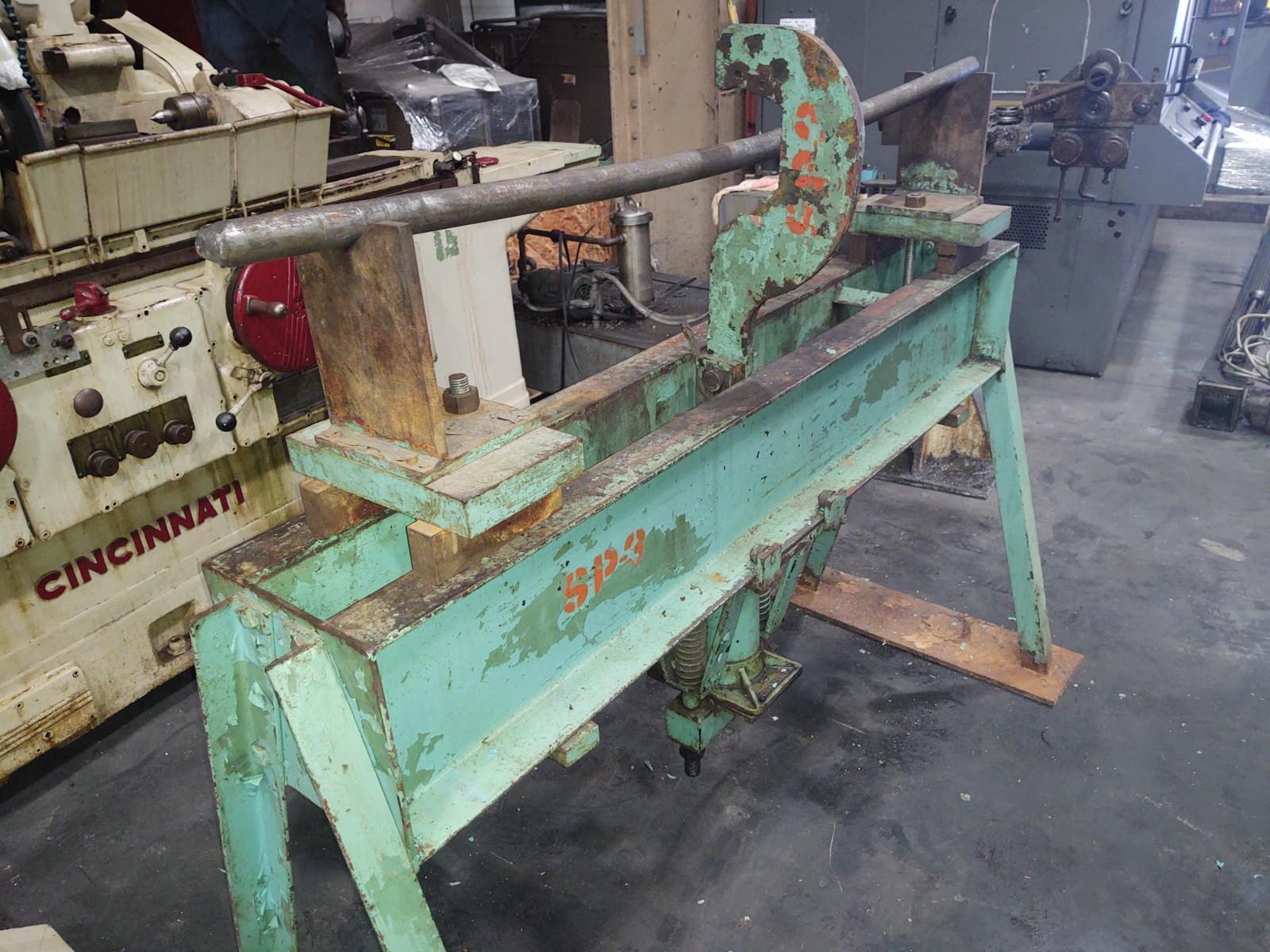 Lempco Hydraulic Straightening Press Model 533