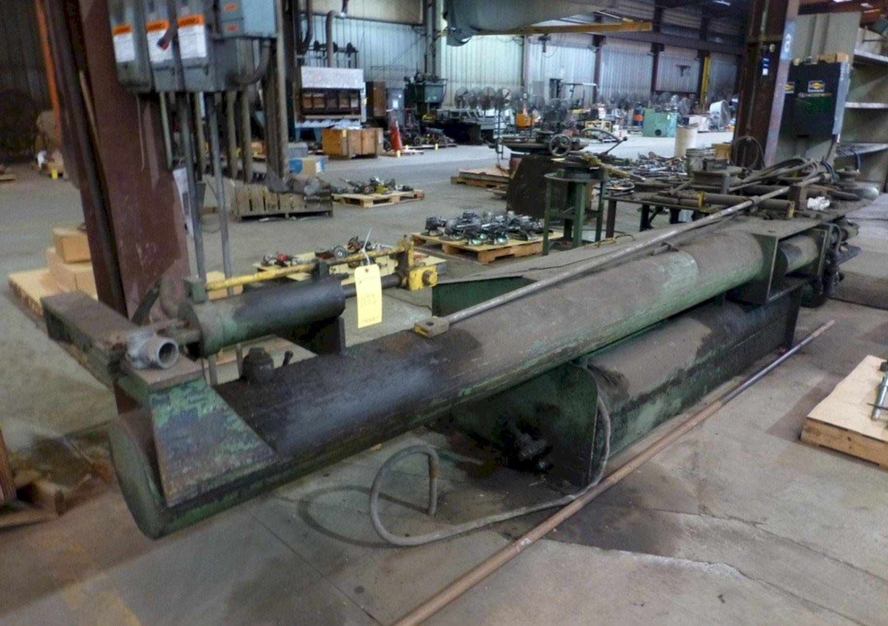 HYDRAULIC PIPE BENDER: STOCK #13335