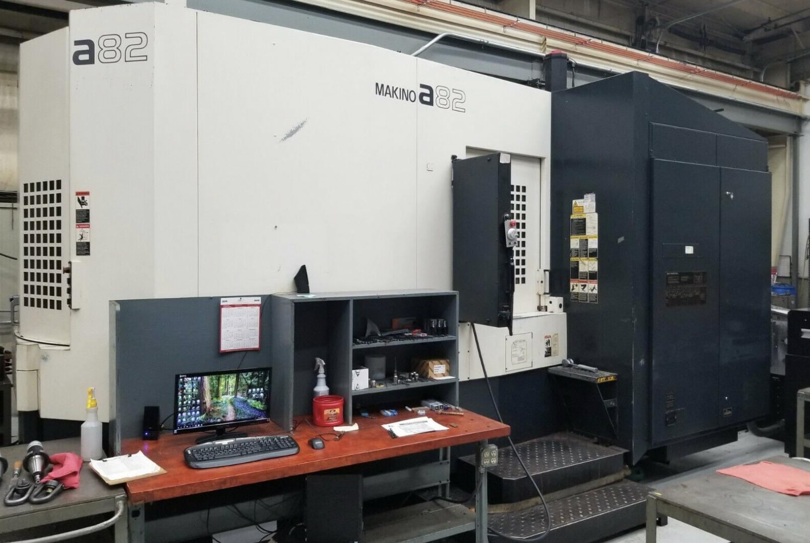 2009 Makino A82 - Horizontal Machining Center