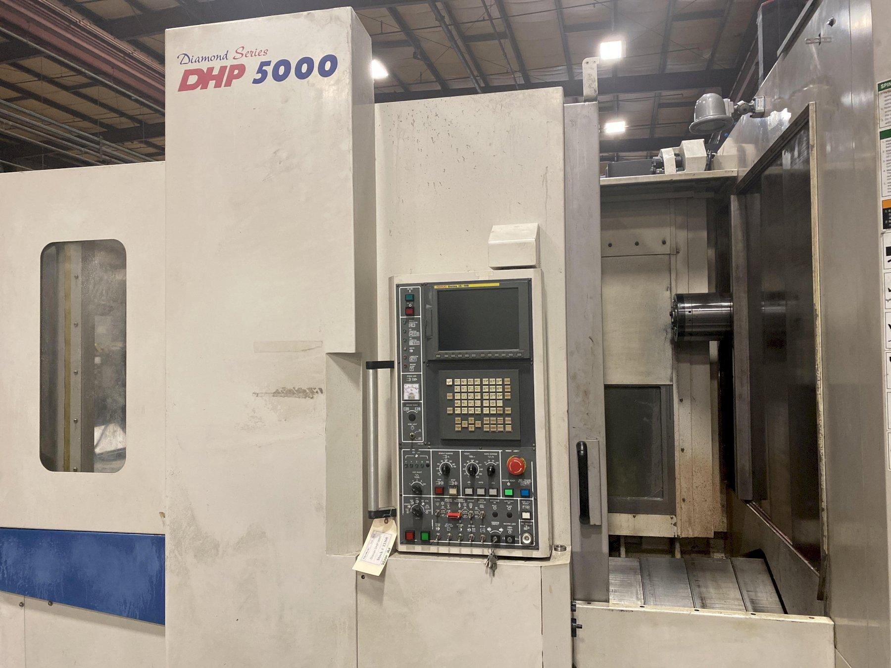 Doosan DHP 5000 CNC Horizontal Machining Center 2006