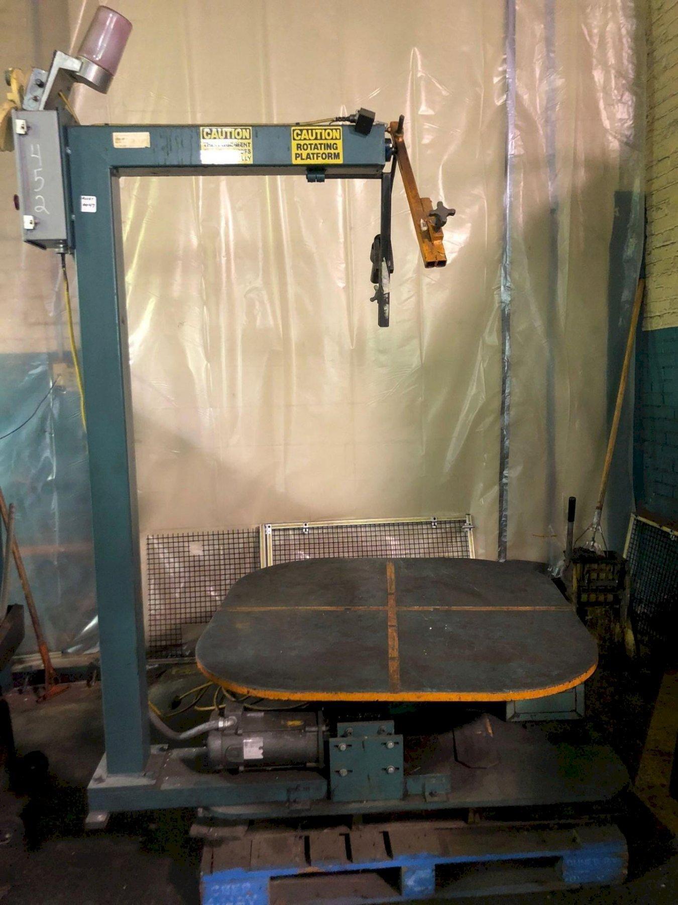"48"" Rotating Uncoiler Table"