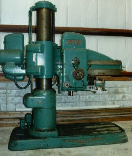 """AMERICAN 4' x 13"""" RADIAL DRILL   Our stock number: 58748"""