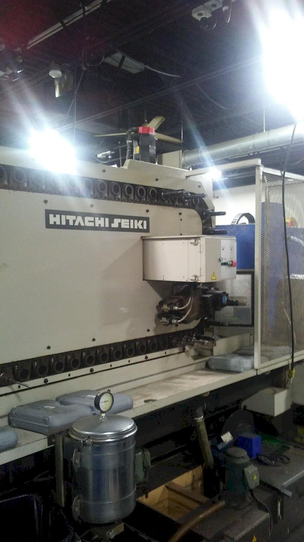 Hitachi Seiki Model HC-400 CNC Horizontal Machining Center, with Fanuc 15M.