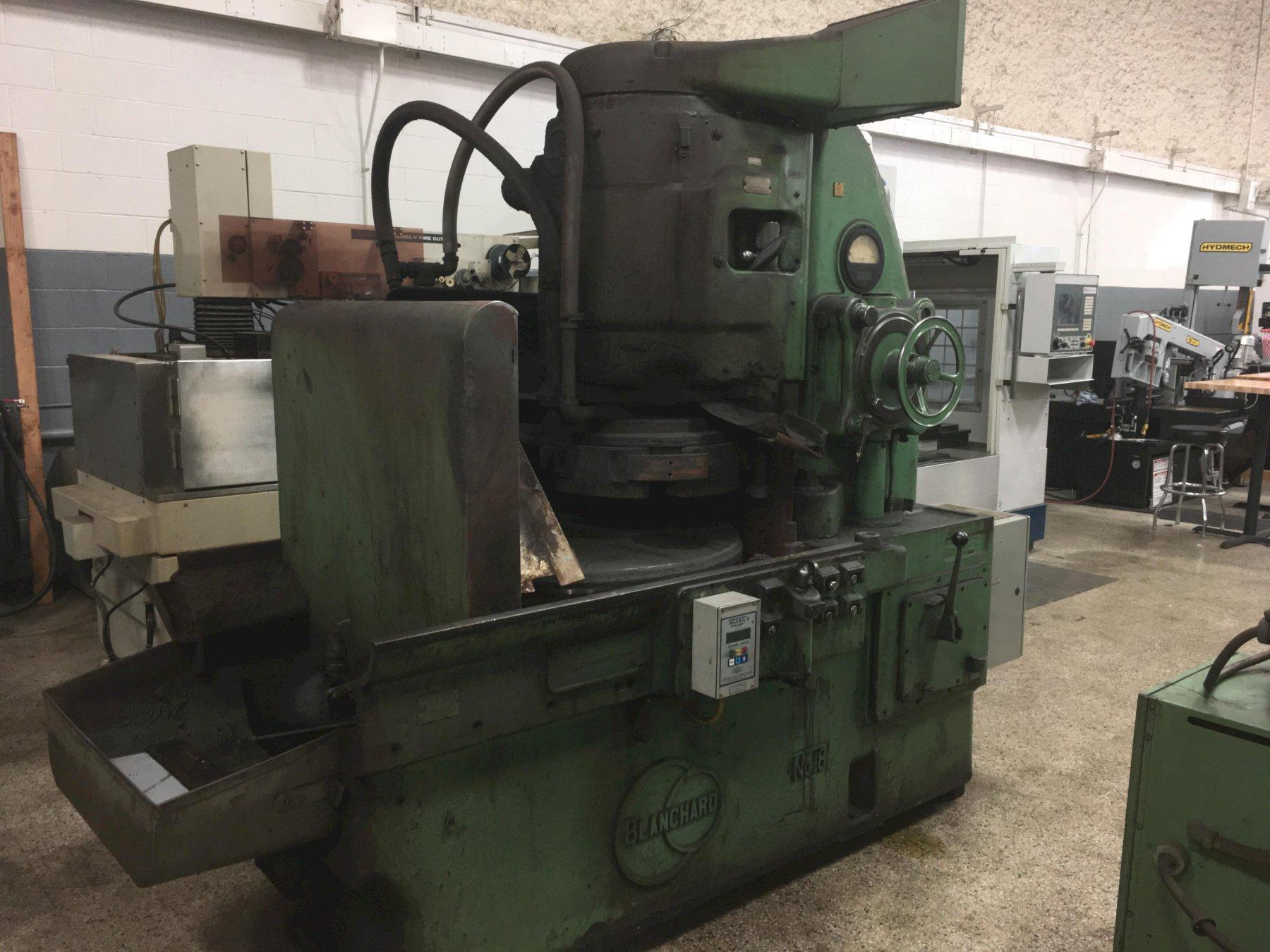 Blanchard # 18 Vertical Spindle Rotary Surface Grinder, S/N 5257.